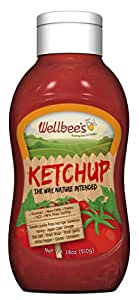 Wellbee's Honey Ketchup - Paleo & SCD Approved - No Preservatives! (18 oz)