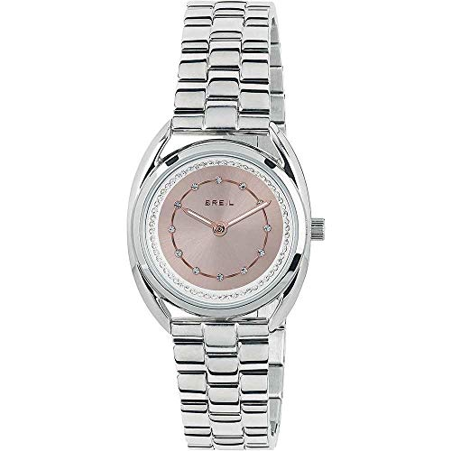 BREIL Watch Petit Female Stainless Steel Pink with Crystals - TW1801