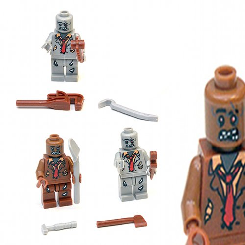 Brown Wood Latigo - Zombie Horde