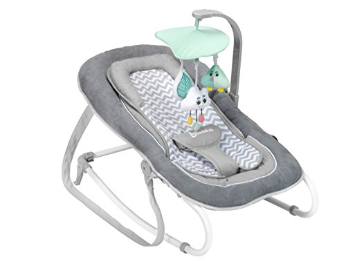 Badabulle Comfort Bouncer WhiteGrey