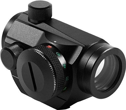 (AIM SPORTS RTDT125 Dual Illuminated Micro Dot with Adjustable Windage & Elevation Knob)