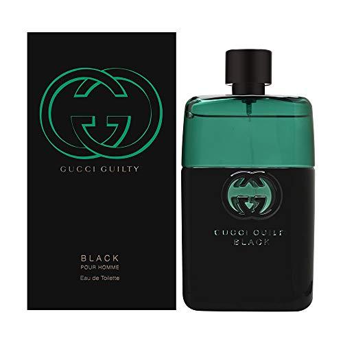 Gucci Guilty Black by Gucci for Men 3.0 oz Eau de Toilette Spray
