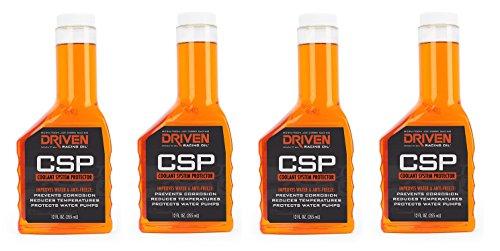 DRIVEN Joe Gibbs Racing Oil 50030 Coolant System Protector – 12 oz. Bottle (4)