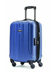 Samsonite Fiero 20-Inch Expandable Carry-on Spinner Suitcase, Blue, International Carry-on