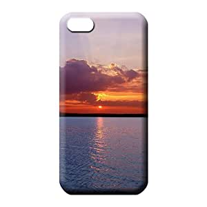 iphone 5 5s Shock Absorbing Cases pattern phone carrying case cover sky blue air white cloud