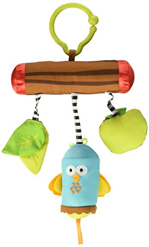- Tiny Love Wind Chimes Clip on Toy, Woodland