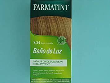 FARMATINT BAÑO DE LUZ RUBIO CARAMELO: Amazon.es: Salud y ...