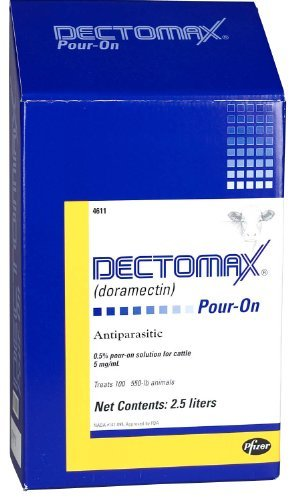 DECTOMAX CTL POUR-ON 2.5LT DOT by Dectomax
