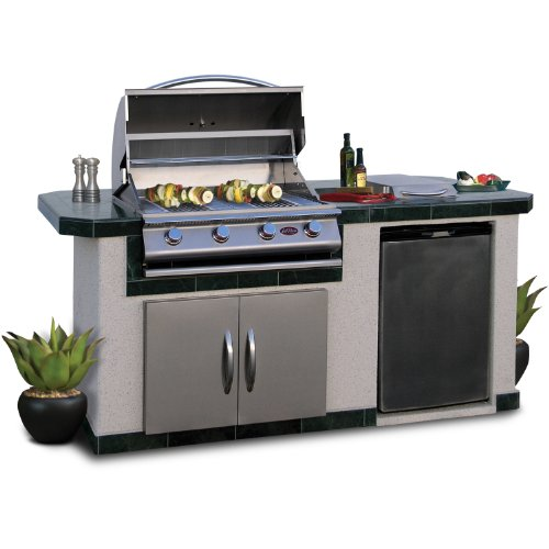 Cal Flame LBK710 Outdoor BBQ Island With 4-Burner Grill