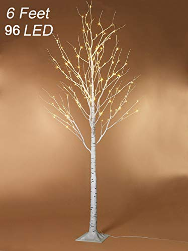 Outdoor Patio Lighted Trees in US - 8