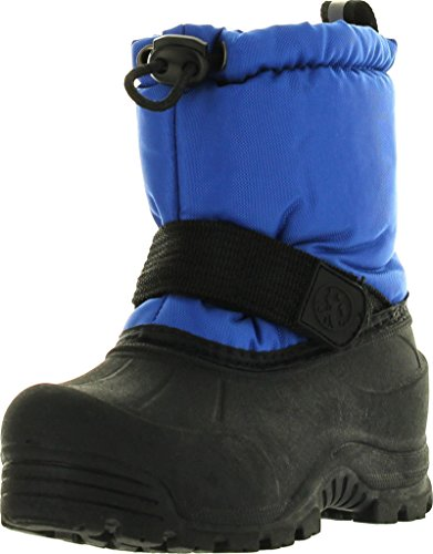 Northside Boys Frosty Waterproof All Weather Snow Boots,Royal (Frosty Snow Boot)
