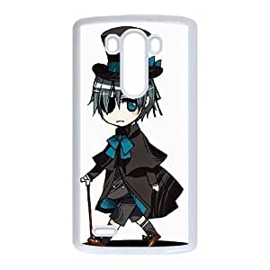 LG G3 White Black Butler phone case cell phone cases&Gift Holiday&Christmas Gifts NVFL7A8825294
