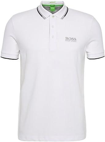 Hugo Boss Hombre Golf Polo Camiseta Peppo Pro Negro, Azul, Azul ...