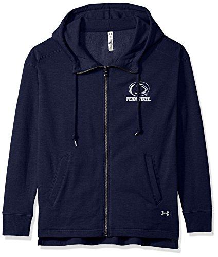 (Under Armour NCAA Penn State Nittany Lions Womens NCAA Women's Full-Zip Fleece Hood, Medium,)