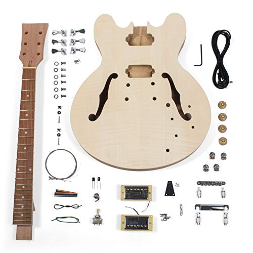 StewMac Build Your Own DIY 335-Style Electric Guitar Kit ()