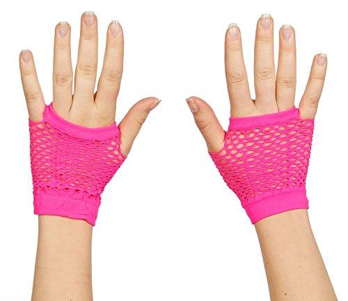 Assorted Fingerless Fishnet Wrist Gloves