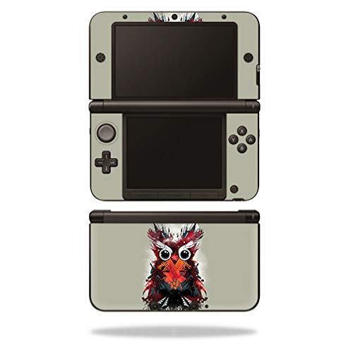 MightySkins Skin for Nintendo 3DS XL Original (2012-2014) - Owl Universe | Protective, Durable, and Unique Vinyl Decal wrap Cover | Easy to Apply, Remove, and Change Styles | Made in The USA - Owl 2012 Pink