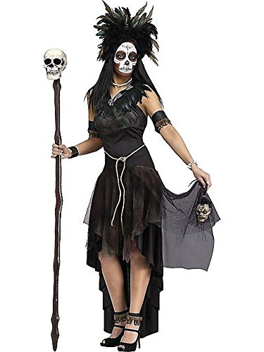 Adult Voodoo Queen Costume L (Voodoo Queen Costume)