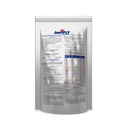JustiFLY Feedthrough Cattle Fly Control, 12 lb | Non-Toxic Larvicide. Controls All Four Fly Species That Affect Cattle. Over 50 Million Head Treated