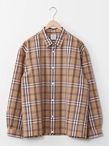 チェックスナップボタンシャツジャケット# 75106020078