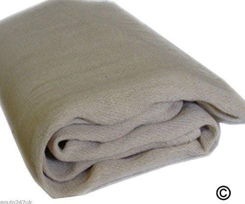 Sarga de algod/ón polvo hojas 12/ft x 9/ft//3,50/m x 2,60/m aprox.