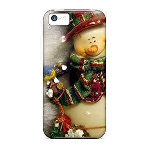 Fashion KdZ37267gYJh Cases Covers For Iphone 5c(christmas Snowman)