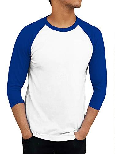 ILTEX Raglan T-Shirt 3/4 Sleeve Athletic Baseball Jersey Unisex (20+ Colors)
