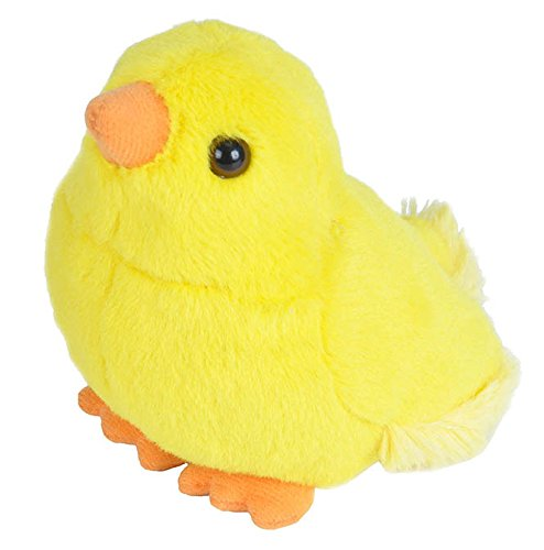 Wild Republic Audubon Birds Baby Chick Plush with Authentic Bird Sound, Stuffed Animal, Bird Toys for Kids and Birders