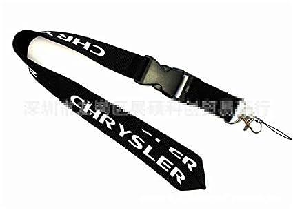 okokk90909o Auto Lanyard Car Logo Lanyard Key Chain ID Card Mobile Strap Pendant Keychain Gift Dodge