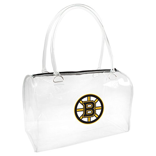 NHL Boston Bruins Clear Bowler Handbag
