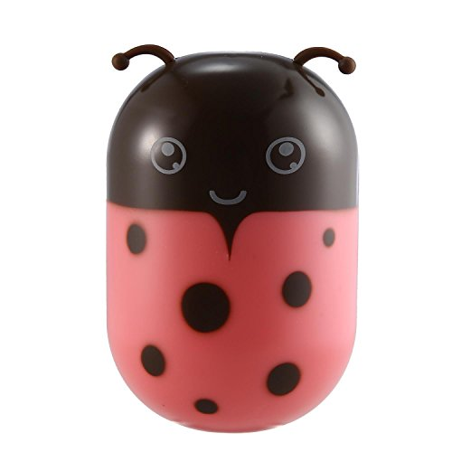 niceEshop(TM) Kids Ladybug Night Light with Sensor Plug in Wall LED Lamp for Children Bedroom Fish Animal Wall Clock