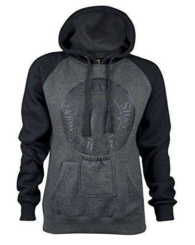 Guinness Grey Hoodie for Men and Woman with Phone Holder Pocket (XXX-Large) (Guinness Beer Hoodie)
