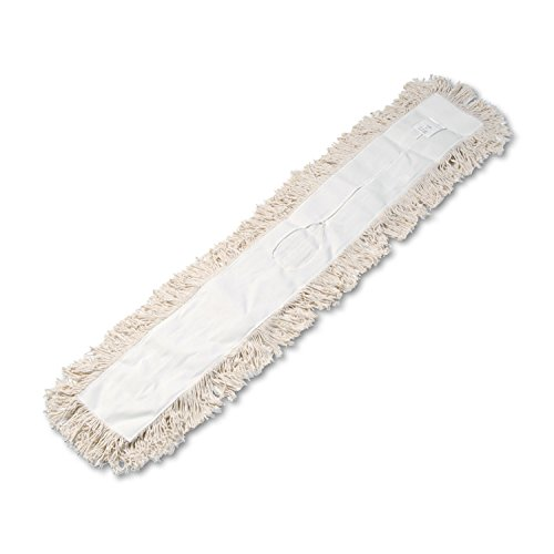 (Boardwalk 1348 Industrial Dust Mop Head, Hygrade Cotton, 48w x 5d, White )