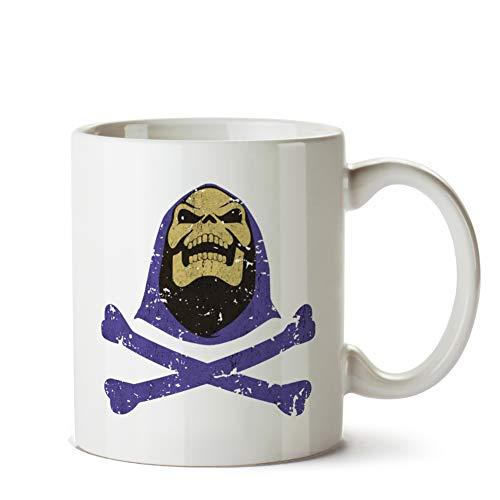 Skeletor & Crossbones - Vintage Mug]()