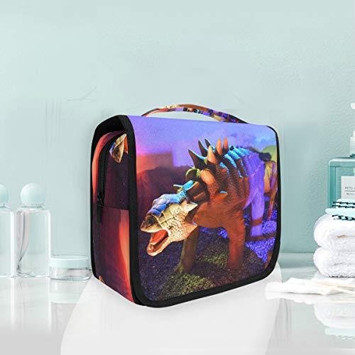 Cosmetic Makeup Toiletry Bag Travel Animal History Dinosaur Hanging -