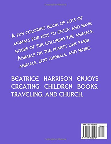 Animal Planet Adventures Coloring Book: For Kid's Ages 4 Years Old and up