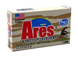 Ares Armed Forces Laundry Powder HE - 1.9 oz. - Coin Vend