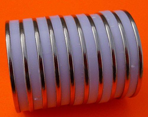 10Pc Super Strong Neodymium Magnet 1.5 x 1/16