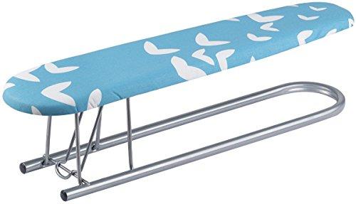 Vileda 110497 Viva Selection Ärmelbügelbrett - extrem stabil - schmal geschnitten zum optimalen Bügeln von Ärmeln - 53x130cm groß