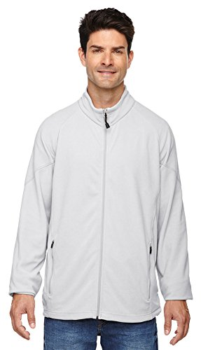 Ash City - North End North End Men's Microfleece Unlined Jacket, XL, Grey Frost 801