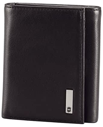 Victorinox Men's Altius 3.0 Athens Leather Tri-Fold Wallet, Black, One Size