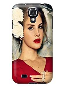 Durable fashionable Lovely Lana Del Rey TPU Phone Protection Case/cover Designed for Samsung Galaxy s4