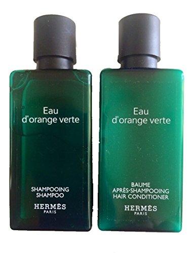hermes-dorange-verte-shampoo-conditioner-lot-of-10-5-of-each-135oz-bottles