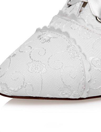GGX/ Damen-Hochzeitsschuhe-Absätze-High Heels-Hochzeit / Kleid / Party & Festivität-Elfenbein 3in-3 3/4in-ivory