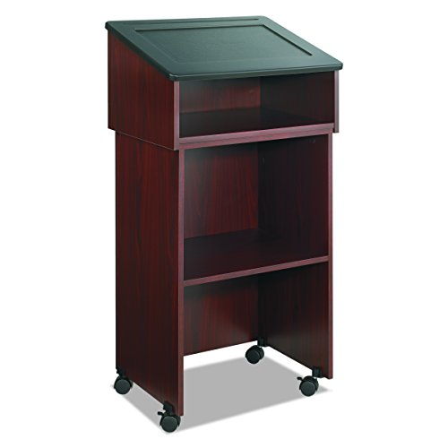 Safco Products 8916MH Table Top Lectern, (Optional Base 8917MH sold separately), Mahogany by Safco Products (Image #4)