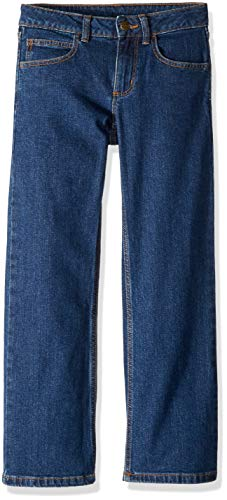Carhartt Boys Pants (Carhartt Boys' Big Denim Pant, Dark Blue, 10)