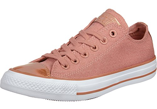 Converse Damen Chuck Taylor All Star Brush Off Gymnastikschuhe Lachsrosa