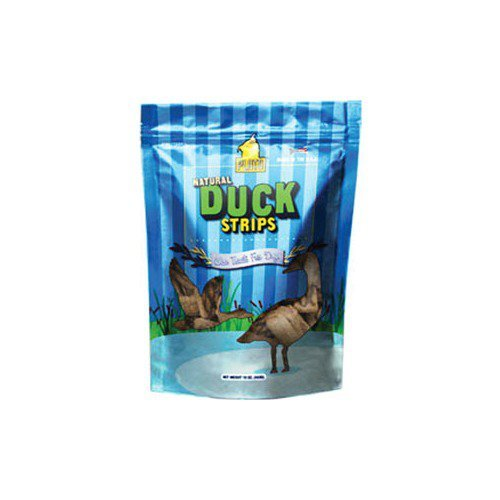 Plato Smart Dog All Natural Duck Strips Dog Treats