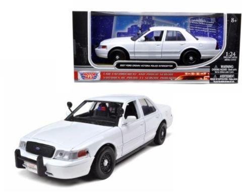 - Motor Max 1:24 W/B - 2010 Ford Crown Victoria Police Interceptor Die Cast Vehicles