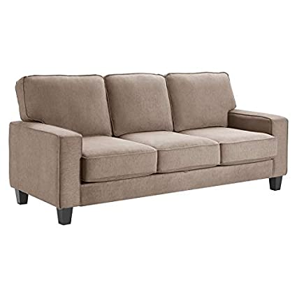Amazoncom Serta Palisades 80 Track Arm Fabric Sofa With Storage